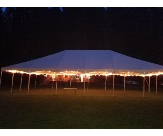 Outdoor Tent Night