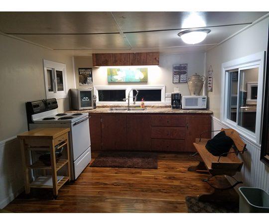 Woodsman Cabin Kitchen