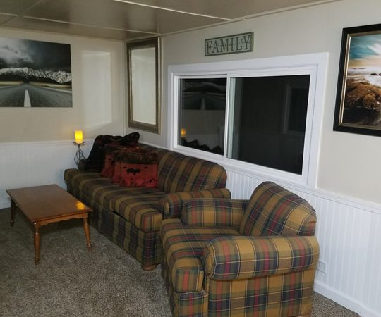 Woodsman Cabin Living Room 1